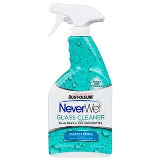 Never Wet Spray Glass Cleaner 22OZ