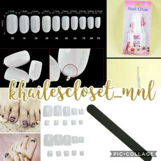 FREE SF🎉🚚 Acrylic/ Fake Nail Starter Kit (3 Sets Left)