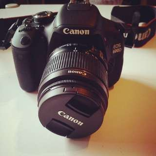 DSLR EOS 600D to let go