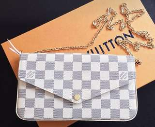 louis vuittion 三合一 lv pochette felicie