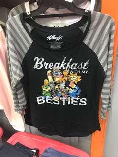 Kellogg's ladies shirt