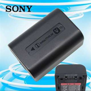 Original Li-ion Battery (NP-FV50) By Sony