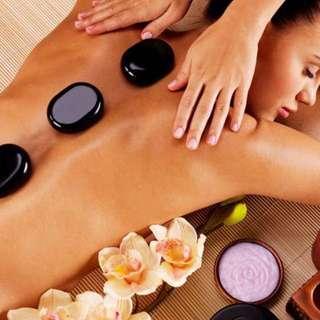 60 mins Woman's Hot Stone Massage