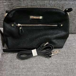 Mizzue black sling bag