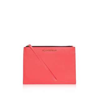 Kurt Geiger London Saffiano Leather Clutch
