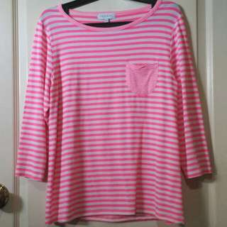 Apple & Eve stripes long sleeves top