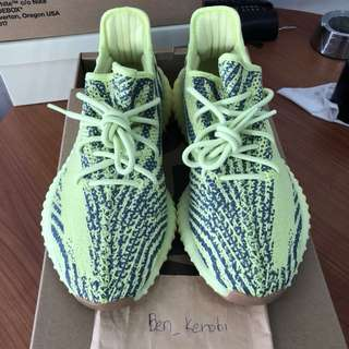 Adidas Yeezy Boost 350 V2 - Frozen yellow (US 9)