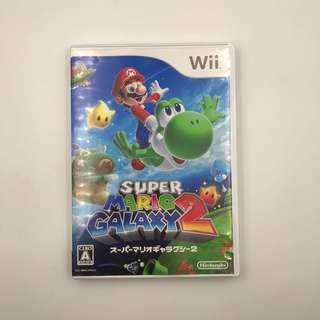 [Pre-loved] Wii Super Mario Galaxy 2 (Jap)