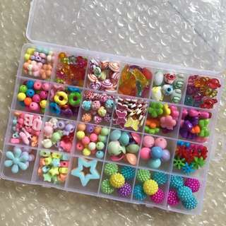 Handmade colorful beads