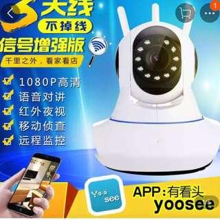 🚚 遠端監視1080P攝影機wifi遠端監視器
