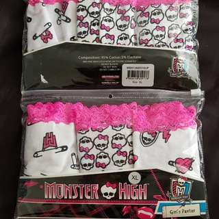 BN Monster High Girls Panties