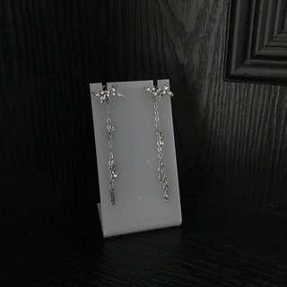 Korean earrings - Korean meadow dangling