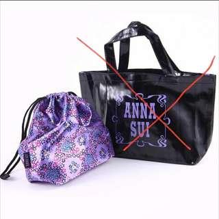 Anna Sui 雜誌袋贈品索繩袋