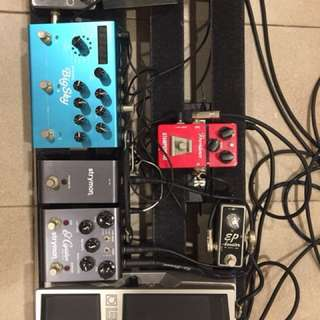 Selling my entire pedalboard