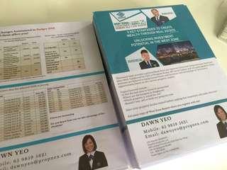 A4 digital print services