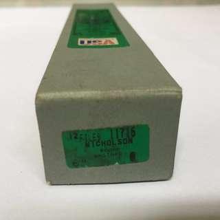 """Nicholson 6"""" / 8"""" Round Bastard File 11716 / 11904"""