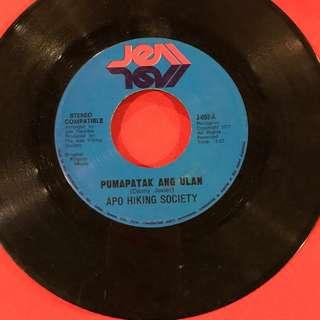 Pumapatak na naman ang Ulan / Bakit ang Babae...  APO vintage 45 rpm #opm