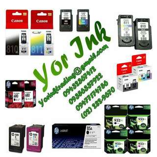 Buyer of Ink cartridges and Toner
