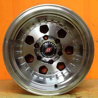 15 inch SPORT RIM 4x4 Tck8223 OFFROAD RACING WHEELSS