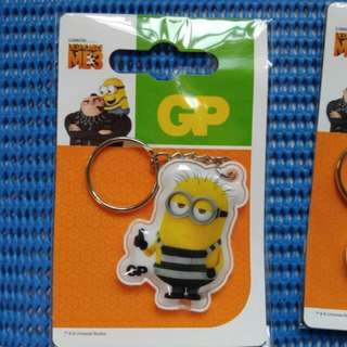 4 minion key chain Each $3  All 4 for $ 9