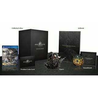 PS4 MONSTER HUNTER WORLD COLLECTOR'S EDITION R3