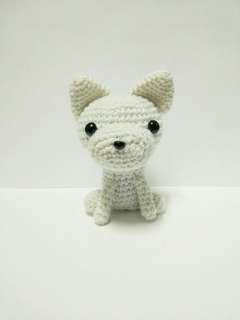 Handmade Crochet Dog Terrier Toy