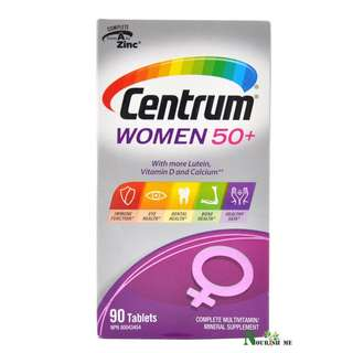 Centrum Women 50+, Complete From A To Zinc Multivitamin/Mineral Supplement 90 Tabs 善存女士50+配方 90 粒