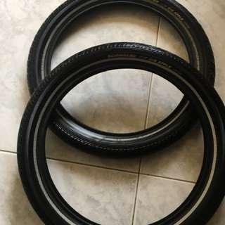 """16"""" tyres Big Apple"""