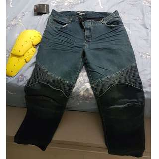 Komine Riding Jeans with Guards