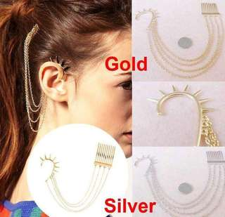 gold/silver earings a1