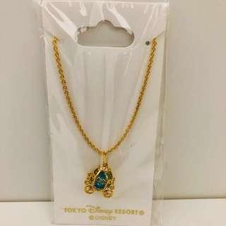 (Last pc!) Tokyo Disneysea princess Cinderella carriage necklace