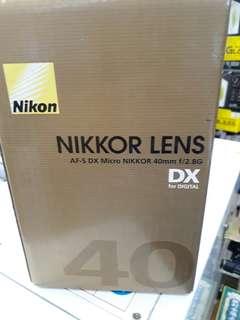 Nikon AF-S DX MIRCO 40mm F/2.8g
