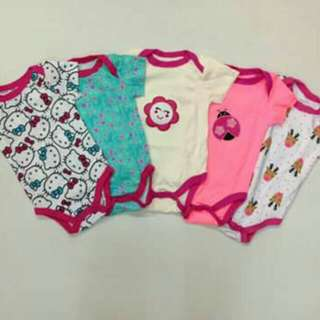 5pc Carter's Onesie Set