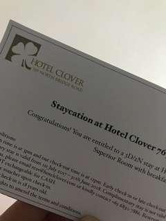 Hotel voucher 3d/2n