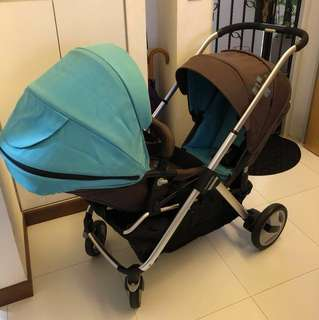 Good Baby Twin Double Stroller