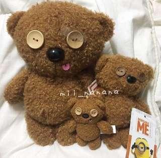 日本USJ  MINION 現貨 ✨ MINION TIM熊公仔