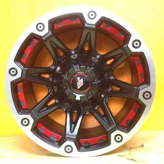 16 inch SPORT RIM 4x4 Tck1849 OFFROAD RACING WHEELS