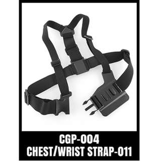GP CHEST STRAP CGP-004 Mount Harness Wide Shoulder Skiing Diving