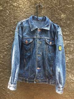Jaket Blue Denim