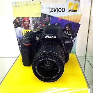 DP 0% Nikon D3400 Kredit Tanpa Kartu Kredit Proses 3 Menit
