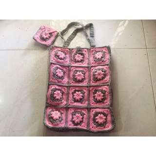 Handmade Crochet Bag
