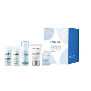 Laneige White Plus Renew Trial Kit (5 Items) 1set, 5pcs