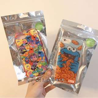芝麻街新款Iphone 6/6s/7/8 soft case