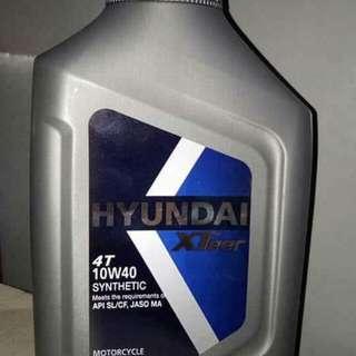 Hyundai Motor Oils