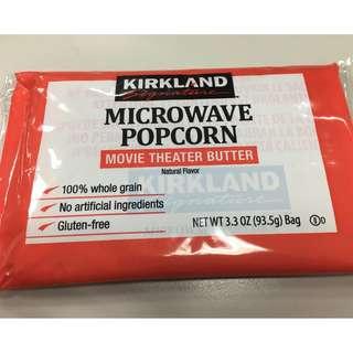 🚚 奶油口味微波爆米花 93.5g/包 Kirkland Signature 科克蘭
