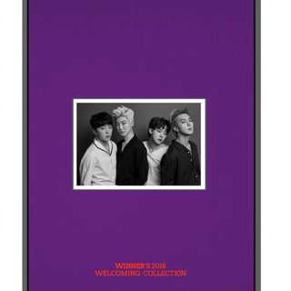 (DVD) Winner 2018 Welcoming Collection (Limited Edition)