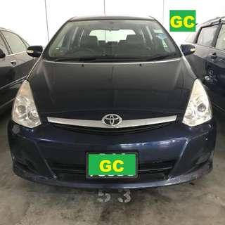 Toyota Wish CHEAPEST RENT AVAILABLE FOR Uber/Grab