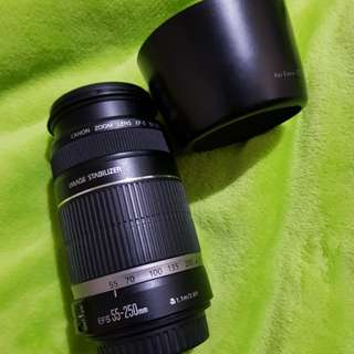 Canon EFS 55-250mm