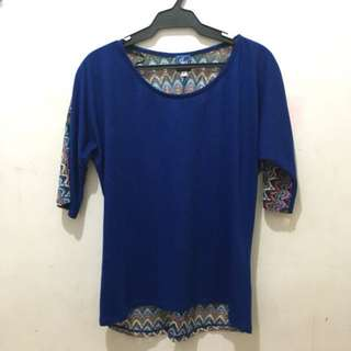 REPRICED 3/4 Sleeve Blouse