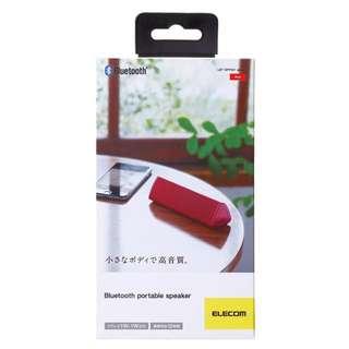 Elecom High-Quality Bluetooth Wireless Portable Speaker